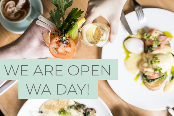 Cafe open WA Day